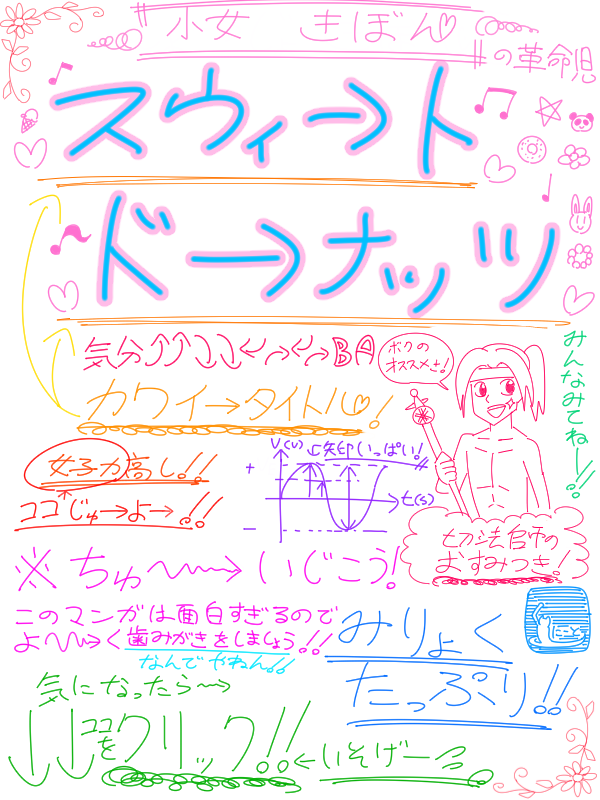スウィ→トド→ナッツ